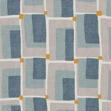 Robert Allen Fabric 262096 Aldo Geo Aquatint