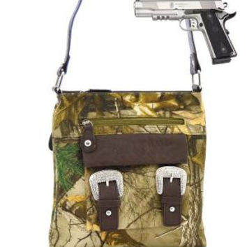 Realtree Camo Cross-Body Purse