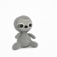 Baby sloth plush, Crochet  plush, stuffed sloth, sloth plush, baby plush