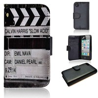 Calvin Harris Slow Acid | wallet case | iPhone 4/4s 5 5s 5c 6 6+ case | samsung galaxy s3 s4 s5 s6 case |