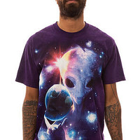 The Mountain Tee Alien Origins in Purple