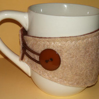 Comfort Cozy coffee or tea cozy. Fits most mugs!