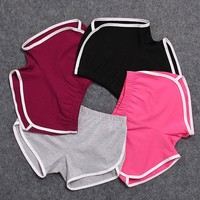 women fitness shorts female stretch short pants sexy mini slim sweatpants workout clothes