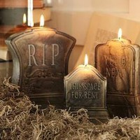 Tombstone Candles