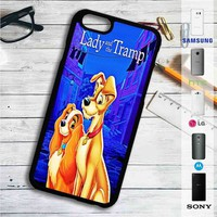 Lady and The Tramp Disney iPhone 4/4S 5 S/C/SE 6/6S Plus 7| Samsung Galaxy S4 S5 S6 S7 NOTE 3 4 5| LG G2 G3 G4| MOTOROLA MOTO X X2 NEXUS 6| SONY Z3 Z4 MINI| HTC ONE X M7 M8 M9 M8 MINI CASE