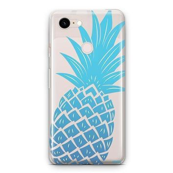 The Big Pineapple Google Pixel 3 Clear Case