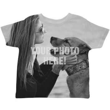 Your Photo Here Toddler Shirt