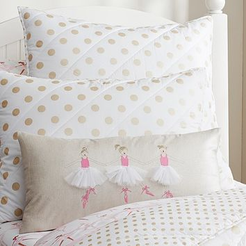Ballerina Decorative Pillow | Pottery Barn Kids