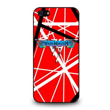 EDDIE VAN HALEN GUITAR iPhone 5 / 5S / SE Case Cover
