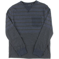 Nautica Mens Cotton Striped Casual Shirt