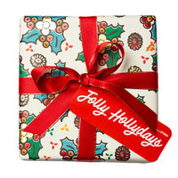 Jolly Hollydays Wrapped Gift