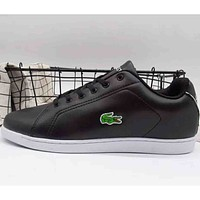 Lacoste 2018 new men and women sports trend leisure shoes F-A36H-MY Black