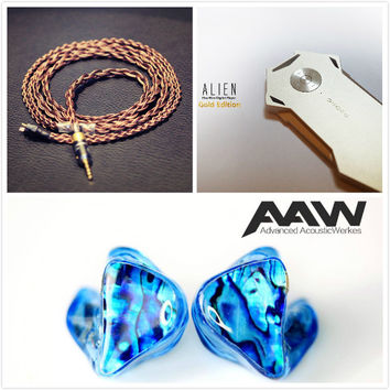 GSS Combo Deal --- AAW W500AHMorph + Vitesse Copper 8-Braid + Shozy Alien