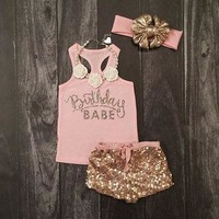Summer Sleeveless Set Birthday