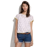 Whit® Embroidered Floral Tee - shirts & tops - Women's NEW ARRIVALS - Madewell