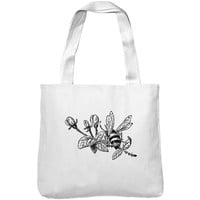 Mintage Little Bee Museum Tote Bag