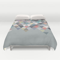 Nordic Combination 20 Duvet Cover by Mareike Böhmer Graphics