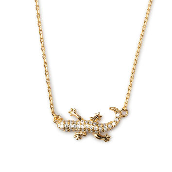 Creeping Crocodile Necklace
