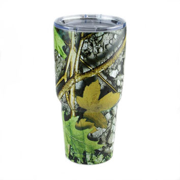 2017 new Camo Tumbler Rambler Vacuum mugs Bilayer Stainless Steel Insulation mug Cars Beer Mug Tumblerful Leopard Camouflage