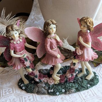 The Fairy Collection by Dezine Skipping Fairy 1995 Figurine 5567