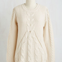 Mid-length Long Sleeve Snug as a Hug Sweater