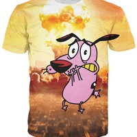 Courage the Cowardly Dog T-Shirt