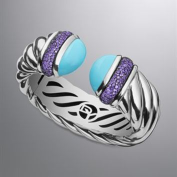 David Yurman | David Yurman Bracelets | Cable & Cuff Bracelets for Women | Waverly Bracelet with Turquoise