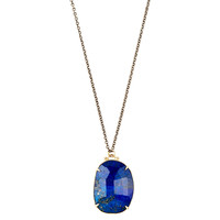 Lapis & Sterling Silver Necklace, Pendant Necklaces