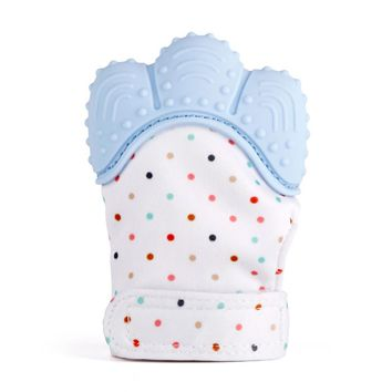 Newborn Baby Teething Toys Infant Teething Mitten Gloves Silicone Mitts
