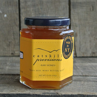 Raw Wildflower Spring Honey