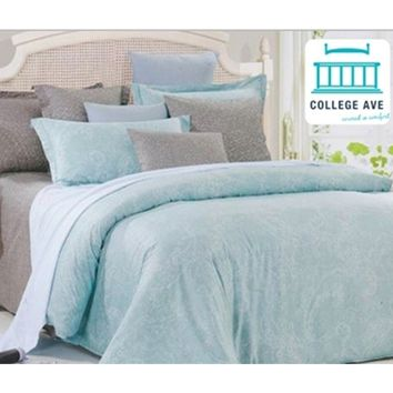 Leisure Twin XL Comforter Set - College Ave Designer Series Girls Dorm Bedding