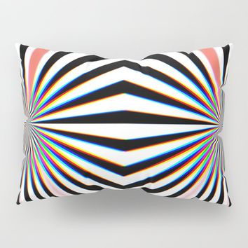 Hypno Pillow Sham by duckyb