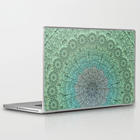Faded Lace Laptop & iPad Skin by Lyle Hatch