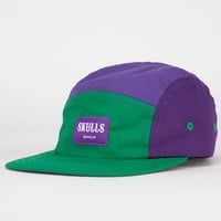 Skulls Hulk Mens 5 Panel Hat Purple Combo One Size For Men 22710876601