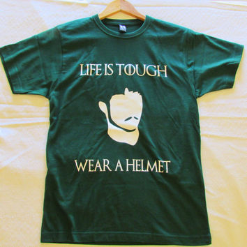 Game of thrones shirt Oberyn Martell tshirt Life is Tough tee