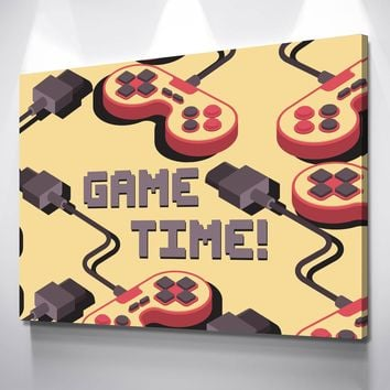 Game Time Canvas Set
