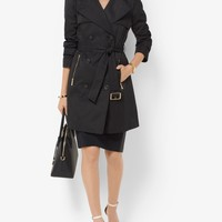 Weather-resistant Techno Trench Coat | Michael Kors