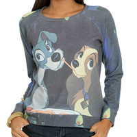 Lady Tramp Sublimation Sweatshirt | Shop Junior Clothing at Wet Seal