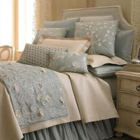 """Sea Blue"" Bed Linens-Horchow"