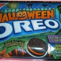 Nabisco Oreo Halloween Orange Creme Cookies 5 Shapes (Pack of 3)