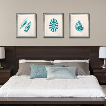 Series 9 Designer Floating Queen Headboard with Nightstands