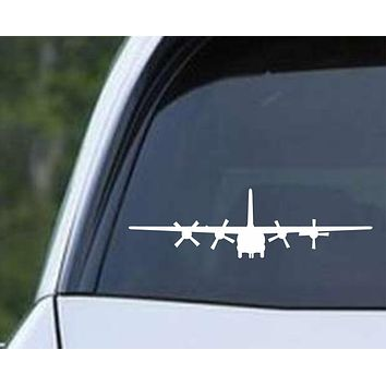 C 130 Plane Military Army Airplane Cargo USMC USA Jet c130 Die Cut Vinyl Decal Sticker
