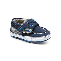 Sperry Top-Sider Boys' Soft Sole Crib Shoes - Navy