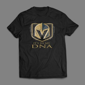 VEGAS GOLDEN KNIGHTS IT'S IN MY DNA T-SHIRT
