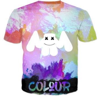 Marshmello Colour T-shirt