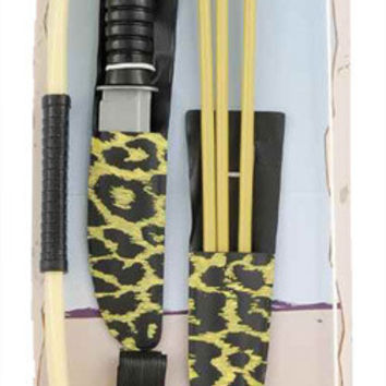 costume accessory: native american bow and arrow Case of 2