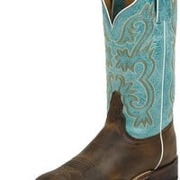 Tony Lama Americana 7915L Tan Worn Goat Womens