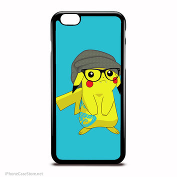 Hipster Pikachu Pokemon Anime Case For Iphone Case