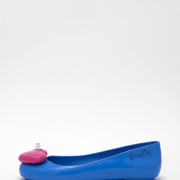 Melissa - Blue Space Love + Jeremy Scott Flats