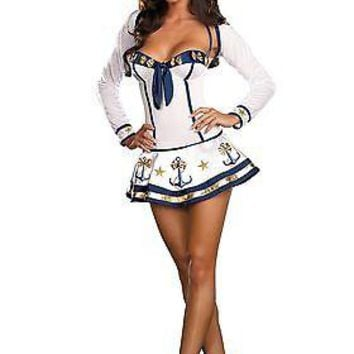 Adult Women's Sexy Sailor Costume